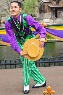 Tiana's Mardi Gras Celebration - Reveler