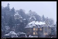 Stuttgart Snowing (Karim Onsi) Tags: snow building art classic architecture germany photography nikon stuttgart palace historical snowing nikkor clowds 18105 historicalplaces 2013 d7000