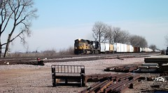 Ames, Iowa, Union Pacific Railroad, Train, Ames Yard (photolibrarian) Tags: train amesiowa unionpacificrailroad amesyard
