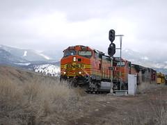 Northern Pacific signals (John Csoka) Tags: montana signals np snowbowl bnsf mrl rattlesnakemountains