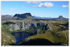 CRADLE MOUNTAIN AND CRATER LAKE (Jeff Crowe) Tags: