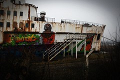 Black Duke of Lancaster Project. (jckjns) Tags: black art andy wales project graffiti mr sweet goin zombie si north cream duke mercer crew clark lancaster dac soda fin bungle zero lora toof abandonedship kiwie fatheat dudug