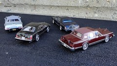 1973-1984 Continental Mark Series (JCarnutz) Tags: mark continental lincoln 143scale