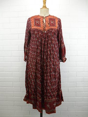 "1970s Vintage Ethnic Style Floaty Dress • <a style=""font-size:0.8em;"" href=""http://www.flickr.com/photos/92035948@N03/8548520573/"" target=""_blank"">View on Flickr</a>"