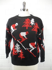 "1970s Vintage Skiing Sweater • <a style=""font-size:0.8em;"" href=""http://www.flickr.com/photos/92035948@N03/8549594968/"" target=""_blank"">View on Flickr</a>"