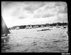 Start of the Intercolonial Boat Race (Australian National Maritime Museum on The Commons) Tags: race sailing yacht sydney sailors row racing rowing rowboat spectators sydneyharbour yachting sailingboat sailingvessel williamhall williamhallcollection