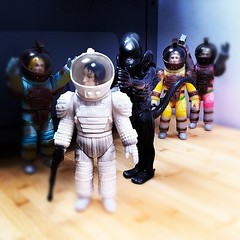 Watch out! (fun9us) Tags: japan glitter scott toys japanese dallas alien astronaut ripley aliens kane lambert spacesuit giger marmit ridley xenomorph nostromo sofubi