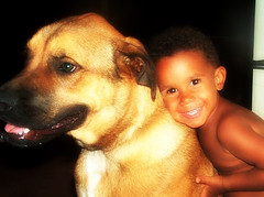 Puppy Love (RaceeMill) Tags: dogs kids