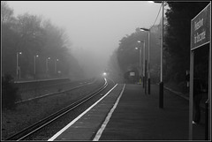 SWT 444035 creeps in out of the mist at Pokesdown (Coolcats100) Tags: uk morning travel trees light england people blackandwhite bw white mist black west tree london station misty train canon out person lights march blackwhite europa europe track south platform siemens eisenbahn rail railway bahnhof loco trains class line dorset rails emu sw locomotive bahn railways southwesttrains locomotives swt electrics 113 lokomotive creeps lok 444 3rdrail emus elok baureihe 2013 650d pokesdown lokomotief 444035 canon650d 444s 113picturesin2013 coolcats100