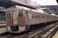MBTA RDC-1 (Andy961) Tags: railroad boston train ma massachusetts railway budd commuter passenger mbta rdc 9154