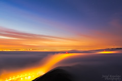 The World We Dream Of (Jared Ropelato) Tags: sanfrancisco park bridge jared nature fog sunrise landscape photography bay outdoor environmental photograph goldengate sanfran enviro 2013 ropelato ropelatophotography