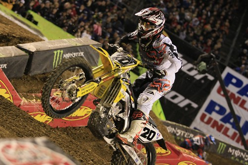 """San Diego SX Race • <a style=""""font-size:0.8em;"""" href=""""https://www.flickr.com/photos/89136799@N03/8568339579/"""" target=""""_blank"""">View on Flickr</a>"""