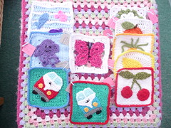 manda's challenges. Thank you for Challenge Squares! (MRS TWINS/SIBOL 'Sunshine International Blankets) Tags: squares elderly blankets crocheted sibol
