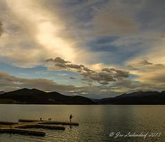 An Evening at Dillon Lake (HikingJoe) Tags: sunset pier fisherman colorado dillonlake photographyforrecreationeliteclub