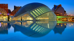 Valencia (AO-photos) Tags: reflection valencia architecture colours hdr hemispherico
