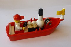 Lego Steam boat (Elsie esq.) Tags: toy boat lego steam minifig build moc constructional