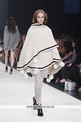 LMFF 2013 - R5 Harper's Bazaar - Sass & Bide (Naomi Rahim (thanks for 5 million visits)) Tags: fashion print australia melbourne leopard cape docklands runway poncho pompoms aw fashionweek harpersbazaar 2013 lmff sassbide lorealmelbournefashionfestival runway5 naomirahim