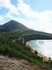 Hanauma Bay Hike (jenesizzle) Tags: oahu hawaii island paradise outdoors landscape hiking hanaumabay kokohead beach ocean