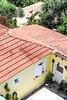 Greece house (CHOBANOf) Tags: umbrela beach greece yellow house