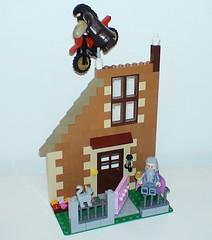 366 Days of Jr Lego Day 239 (adventuresinlego) Tags: lego moc legomoc 365daysoflego 366daysoflego harrypotter jkrowling harrypotterandthephilosophersstone albusdumbledore