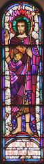John the Baptist (Spiritan Heritage) Tags: johnthebaptist stainedglass