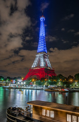 French symbol (aurlien.leroch) Tags: europe france paris eiffeltower toureiffel attentats nice 14juillet bastilleday bleublancrouge longexposure cityscape cityoflights nikon d7100 symbol