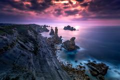 Beautiful coast (ALFONSO1979 ) Tags: landscape sunset sunrise colors paisajes seascape rocks cantabria liencres losurros nikond800e nikon1424