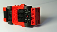 Small Lego Lamborghini (MOC) (hajdekr) Tags: lego small fivestud studs moc myowncreation car vehicle race racing speed racer sportscar vintage old retro easy basic simple simply wheels wheel lamborghini lambo italdesign design muscular agresive red fast diablo diabolo