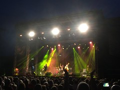 Imelda May On Stage at King John's Castle, Limerick. (firehouse.ie) Tags: rocking performer artiste irish singer castles johns john king street nicholas nicholasstreet limerickrocks musicscene dolanslive dolanslimerick dolans venue castle medieaval openair rockandroll rockabilly music rock munster rivershannon disland theisland kingsisland kingjohnscastle ireland limerick stage live concert gig band imeldamay may imelda