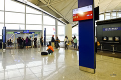 Departure gate (A. Wee) Tags: hongkong hkg airport   china  departure terminal gate