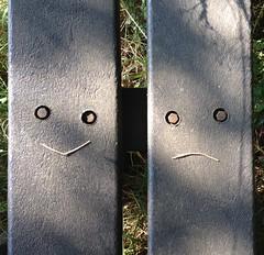 Happy & Sad (johanw8um) Tags: bankje meppen oosterhesselen gees drenthe