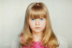 Emma (www.sergeybidun.com) Tags: girl kid child portrait cute face studio angel hair eye blue pink amazing