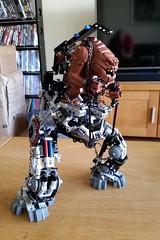 Rancor Mech Suit (Barman76) Tags: lego star wars rancor mech mecha suit bionicle hero factory technic