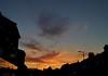 Swirly clouds and sunset (Climate_Stillz) Tags: sunset sunsetcolours coloursatsunset clouds cloudstreaks colouredsky colouredclouds cloudswirls cloudscape orangesky sundown evening eveningshot mobilephotography nexus5
