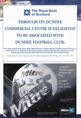 Dundee vs Rangers - 2000 - Page 24 (The Sky Strikers) Tags: dundee rangers scottish premier league spl bank of scotland dens park matchday magazine one pound fifty