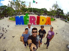 Always a great time in Merida, #Mexico.   #travel #merida #fun #family #goodtimes (Jose Luis Zapata) Tags: instagramapp square squareformat iphoneography uploaded:by=instagram skyline