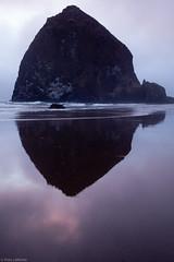 Haystack Rock (life is good (pete)) Tags: oregon oregoncoast haystackrock vacation2016 canon5dmkii 24105mmf4 summer july