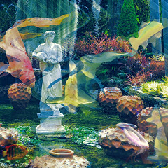 The Lost Garden of Atlantis (Lemon~art) Tags: underwater fish garden lastcityofatlantis treatthis kreativepeople manipulation texture layers
