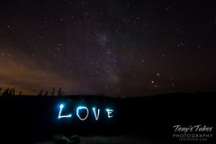 August 27, 2016 - Love and the Milky Way. (Tony's Takes)