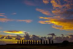 Rapa Nui sky (macsbruj) Tags: chile rapanui luz isladepascua amanecer sunrise photoshop hdr