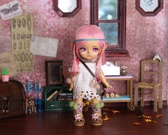 Folk's Heart #1 (Arthoniel) Tags: folk summoner lati latidoll latiyellow tan limited pharaohscurse doll bjd balljointeddoll collection diorama ooak laboratory roombox dollhouse rement callcifer howlsmovingcastle fire miniature tiny toy figure elf denaliwind custom faceup