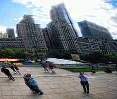 Cloud Gate Lovers (rudy rodriguez jr) Tags: cloudgate lovers chicago