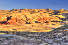 Painted Hills (HDR) (so1150) Tags: nikon d3 hdr paintedhills johndaynationalmonument sunset ps6