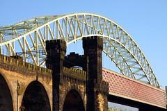 Northern England #0082 Widnes 140911 Runcorn-Widnes Bridge (Steveox55) Tags: bridge railway merseyside widnes
