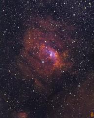 ngc7635 ts130 RfR sx814 narrow (Giovanni astrobond69) Tags: bubble nebula ngc7635 astrobond69 astrofotografia astrophotography riccardi focal reducer075x ioptron ieq45pro starlight sx814 monochrome maximdl seletek armadillo2 baader narrowband giovanni leoni ts130900 lanthanium