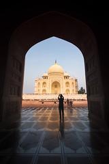Taj Mahal (Ashmalikphotography) Tags: tajmahal incredibleindia sunset sunrise architechture agra india mausoleum reflection uttarpradesh colors colorfulindia ashmalikphotography pietradura goldentaj