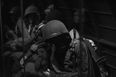 DSC_0114-2 (Edouard Lecluse) Tags: airbornemuseum saintemreglise airborne museum normandie normandy france nikon d5200 50mm monochrome blackandwhite noiretblanc negroyblanco nb bw memorial dday ww2 memory personnage srie longestday muse