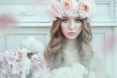 ***** (TatianaAntoshina) Tags: portrait eyes look flowers people glamour beauty