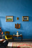 (ola_alexeeva) Tags: флоренция италия тоскана art italy italian firenze florence painting дизайн интерьера wall blue interior design airbnb