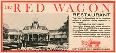 The Red Wagon Restaurant, 1960 ad (Tom Simpson) Tags: vacationland vintage 1960 1960s disney vintagedisney disneyland ad ads advertising vintagead vintageads redwagon restaurant